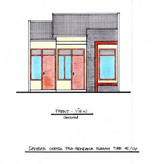 Gambar Desain Rumah Minimalis Type 45 2013