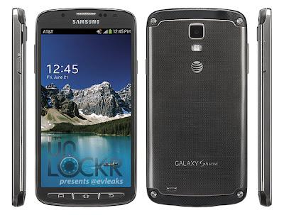 Memperkenalkan Galaxy S4 Active (6 Gambar)