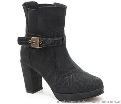 Moda botas otoño invierno 2014.