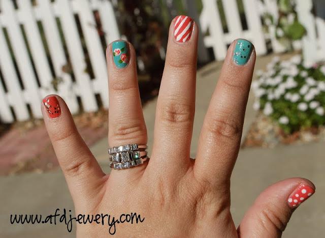 nail art: end of season nails