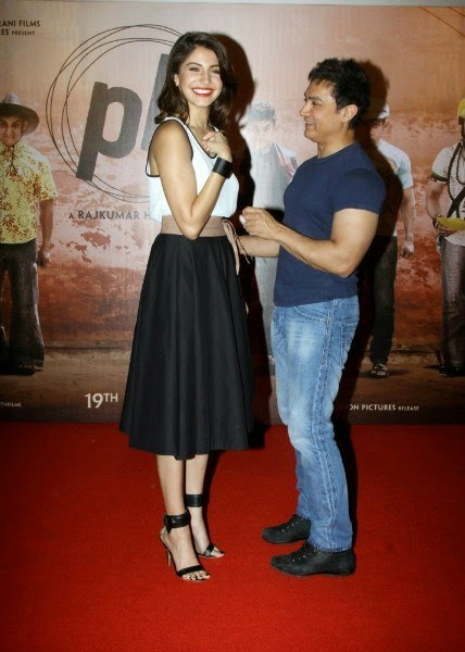 Anushka Sharma and Aamir Khan