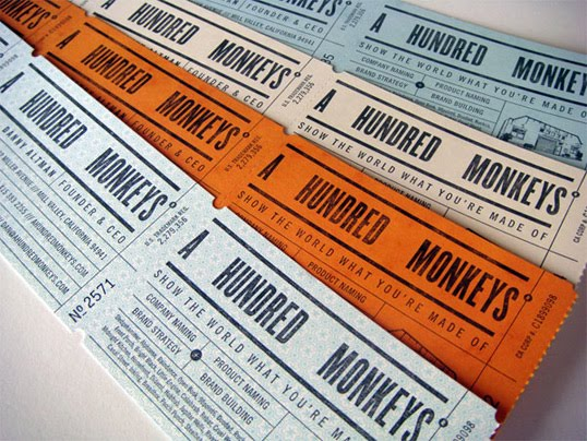 Super punch business cardstear off tickets business cardstear off tickets by croxton design for a hundred monkeys via these sites colourmoves