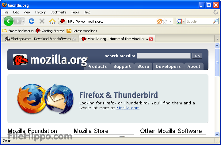 free software free  of latest version of mozilla firefox