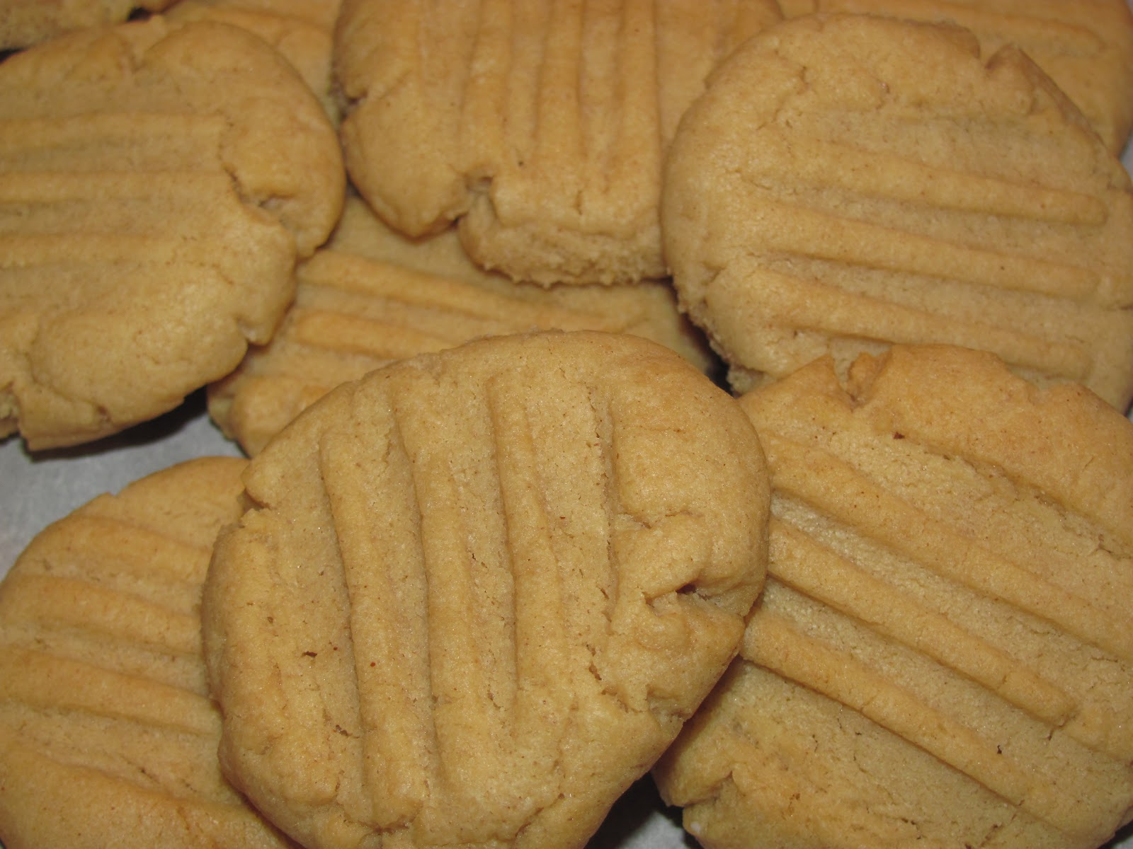For the Love of Food: Best Ever Peanut Butter Cookies