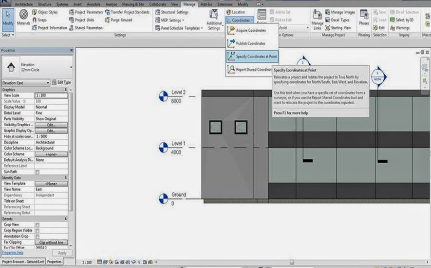 Setting Or Changing Ground Level In Revit Cadline Community - Ground elevation