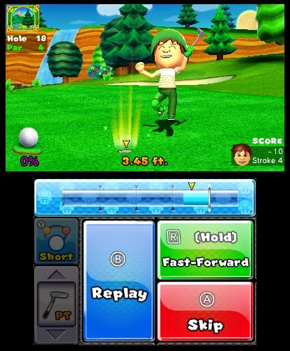 Mario Golf Birdie Score