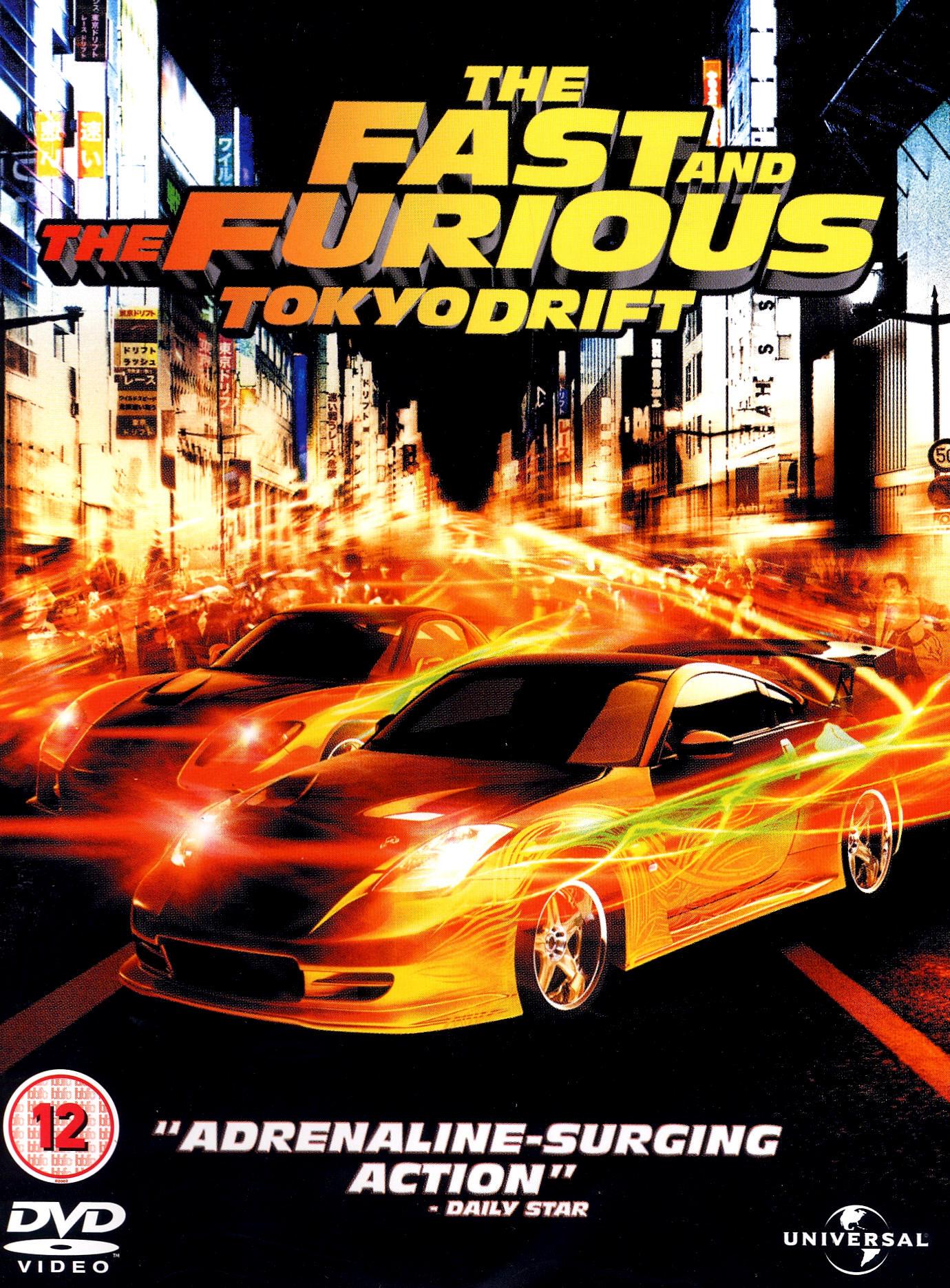 Phim Quá Nhanh Quá Nguy Hiểm 3-Fast And Furious 3: Tokyo Drift