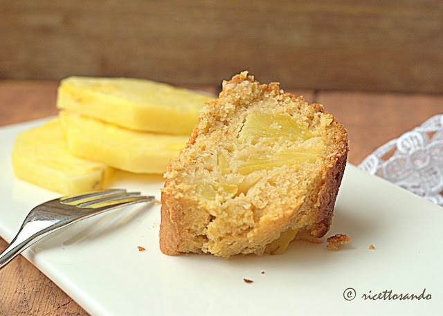 Ciambella all'ananas con cereali e yogurt di kefir ricetta torta light