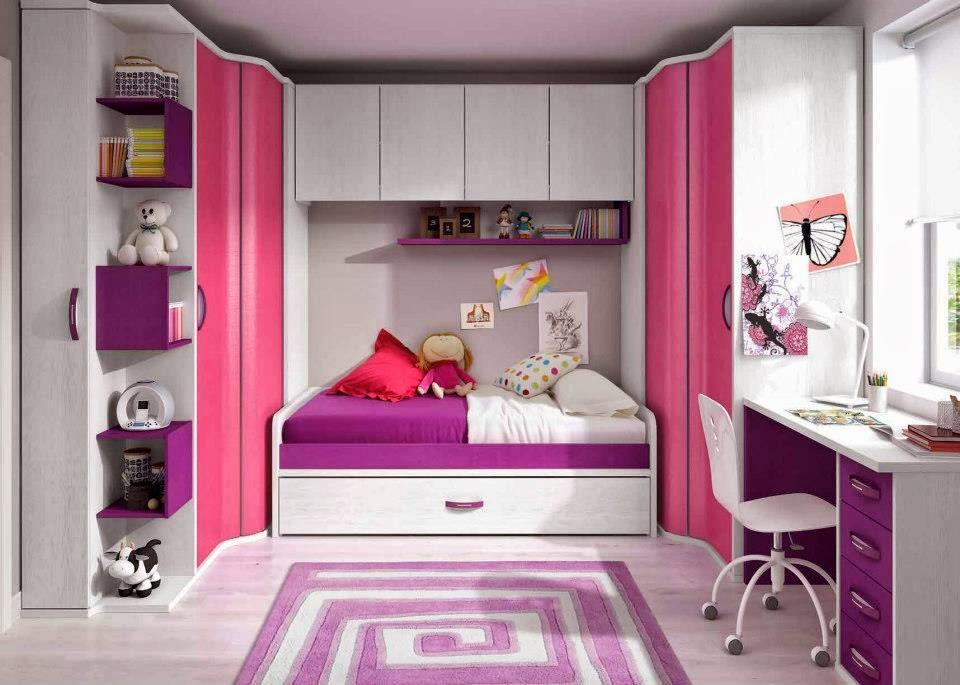 Armarios de rincon for Dormitorios juveniles para ninas