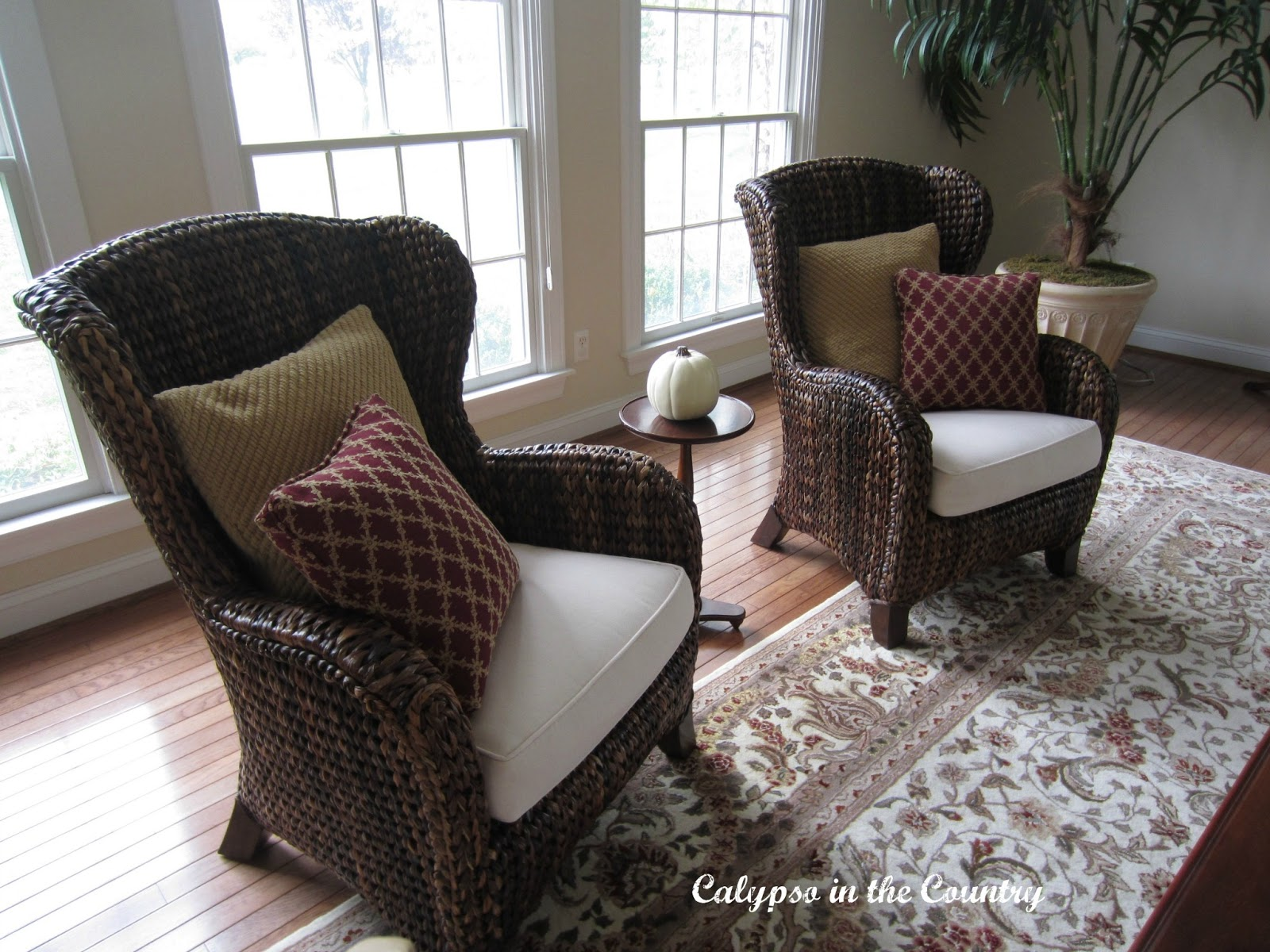 Seagrass Living Room Furniture Calypso In The Country My Favorite Chairs