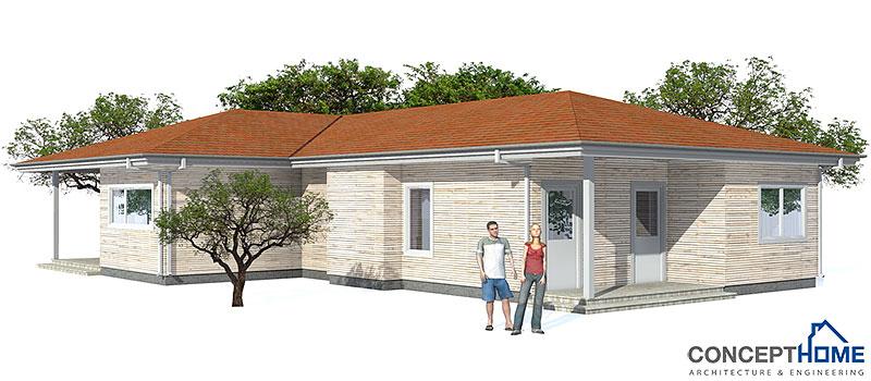 Affordable Home Plans Economical Home Plan Ch73