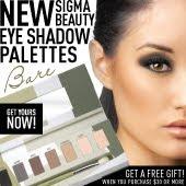 Sigma Eye Shadow Palettes