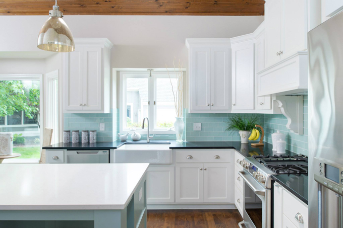 House of turquoise profile cabinet and design for Tiffany blue kitchen ideas