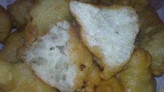 churros de ajo y perejil