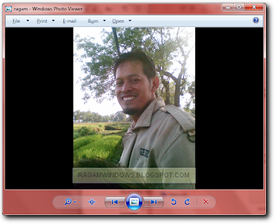 mengganti warna background photo viewer