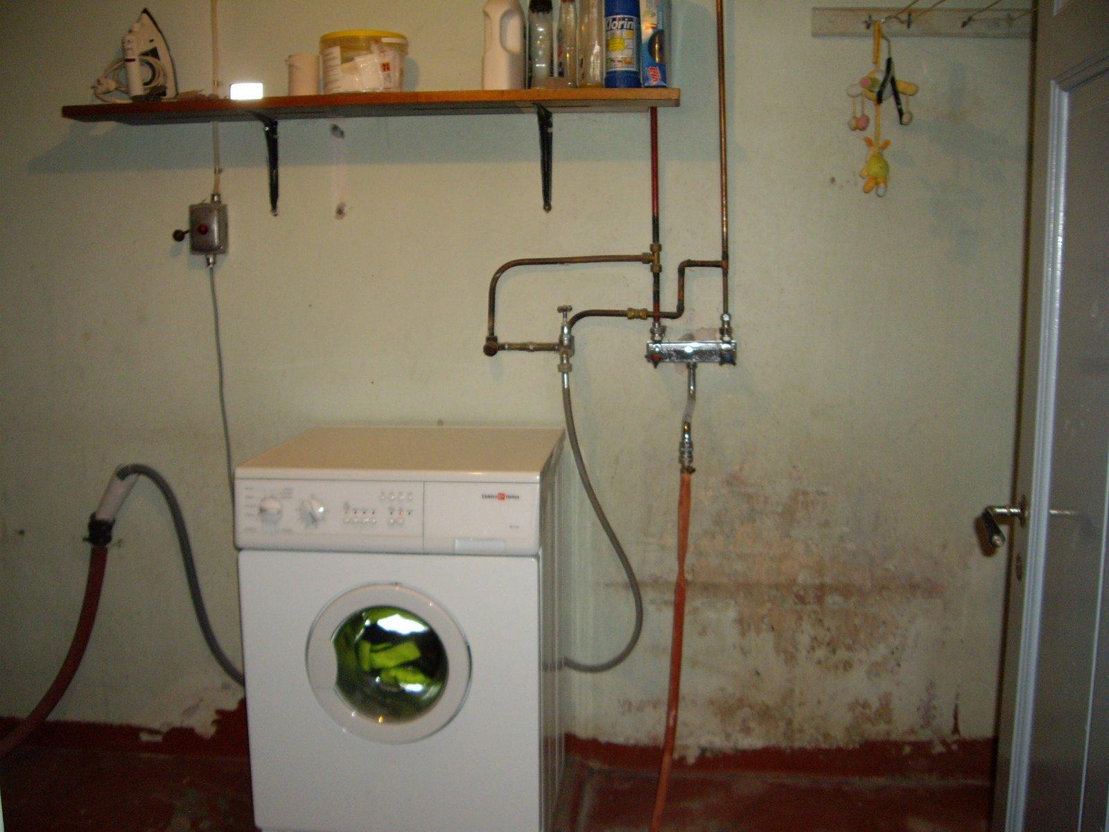 Annas hus och hem: Tvättstugan före och efter