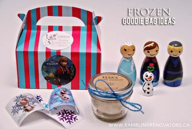 frozen goody bags car interior design