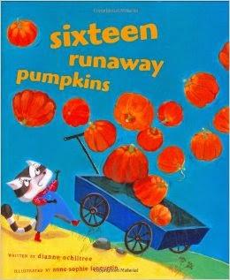 http://www.amazon.com/Sixteen-Runaway-Pumpkins-Dianne-Ochiltree/dp/0689850905/ref=sr_1_12?s=books&ie=UTF8&qid=1413302853&sr=1-12&keywords=pumpkin+counting+books