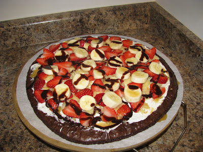 Delicious Brownie Banana Split Dessert