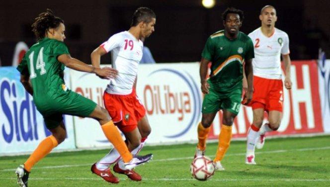 rencontre algerie maroc football