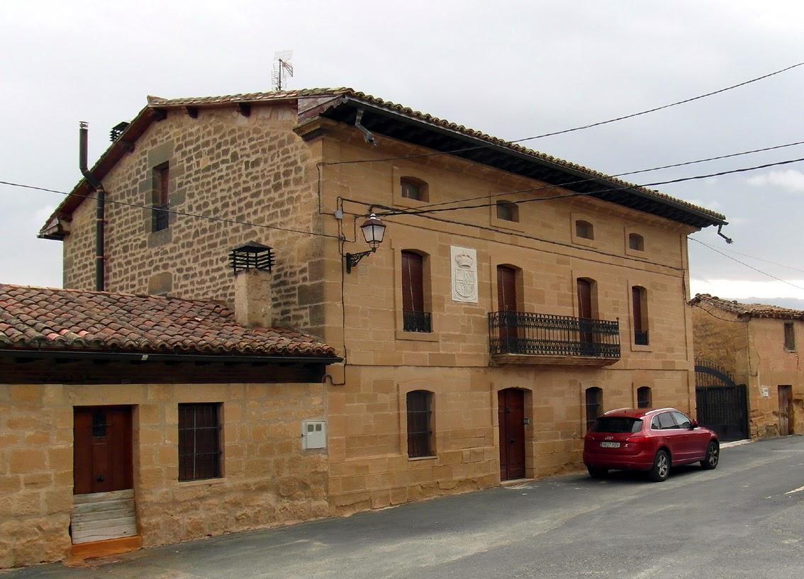 Casas solariegas en la rioja 172 ollauri otras for Hechuras de casas