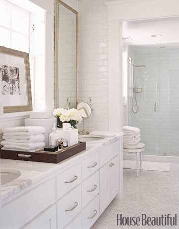 style bright white bathrooms