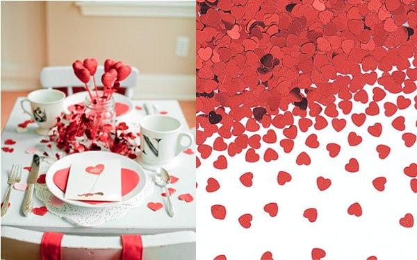 Organización de eventos: Ideas para decorar tu mesa éste 14 de febrero