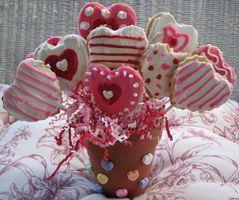 Como hacer un ramo o bouquet de galletas en palito