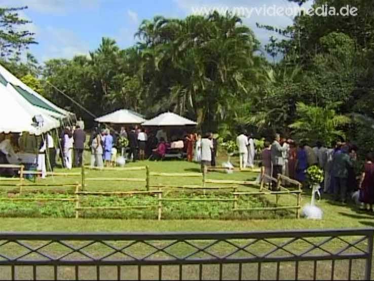 Wedding in the park of Villa Eureka