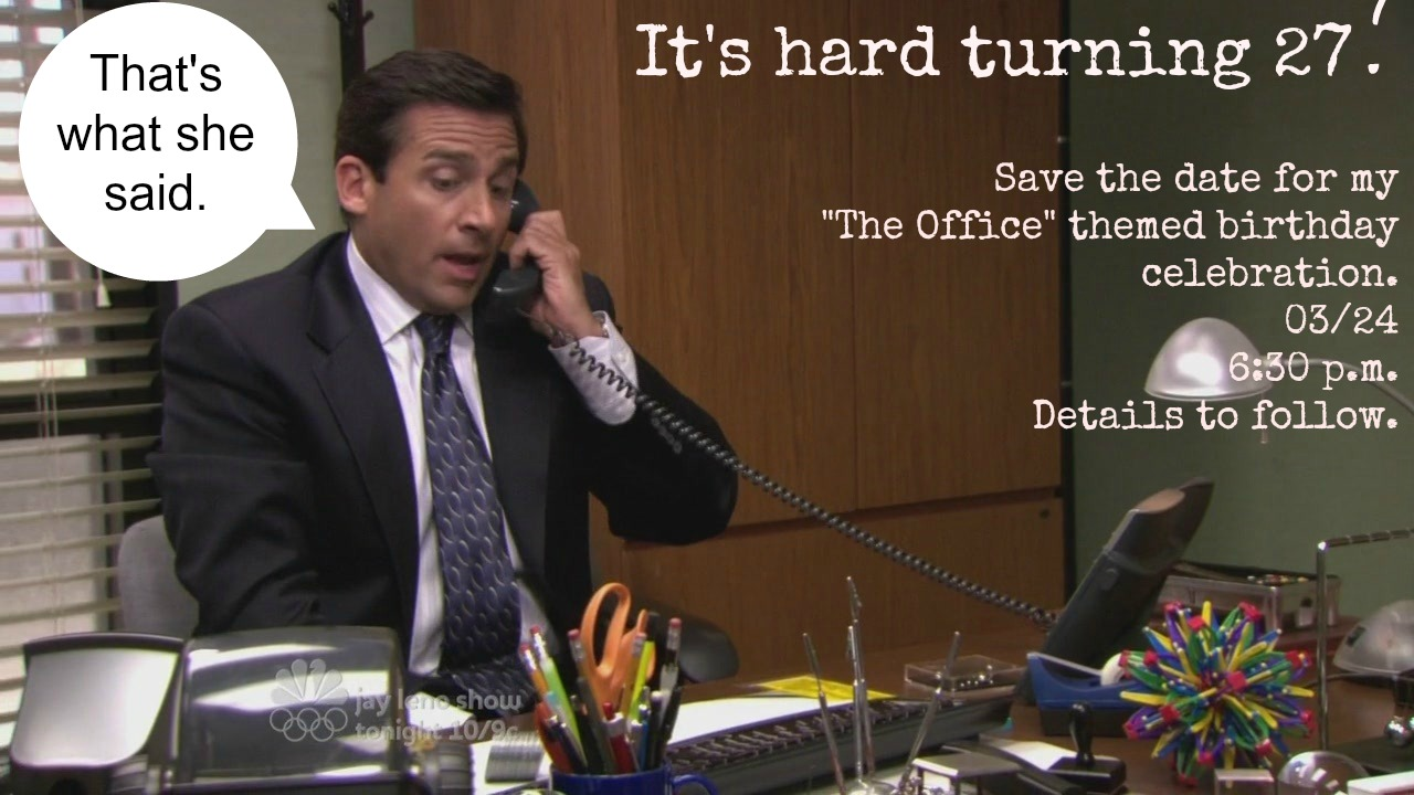 the office s day cards