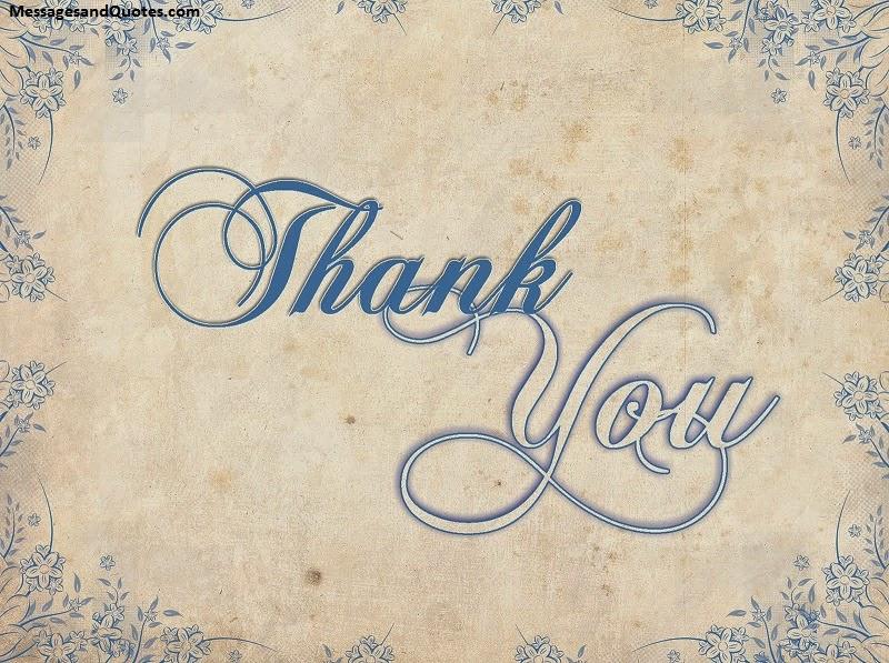 Best heartfelt thank you messages