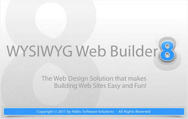 WYSIWYG Web Builder for customing and design blogger template