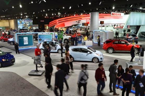 car models in Auto car show