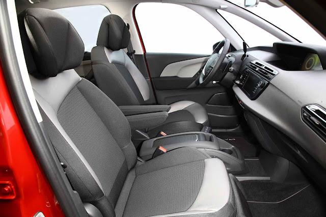 Citroen C4 Picasso 2016 - interior