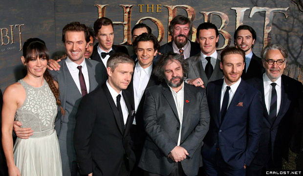 The Hobbit The Desolation of Smaug Premiere