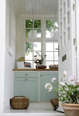 Mint cupboard and drawer from Katrine Martensen-Larsen