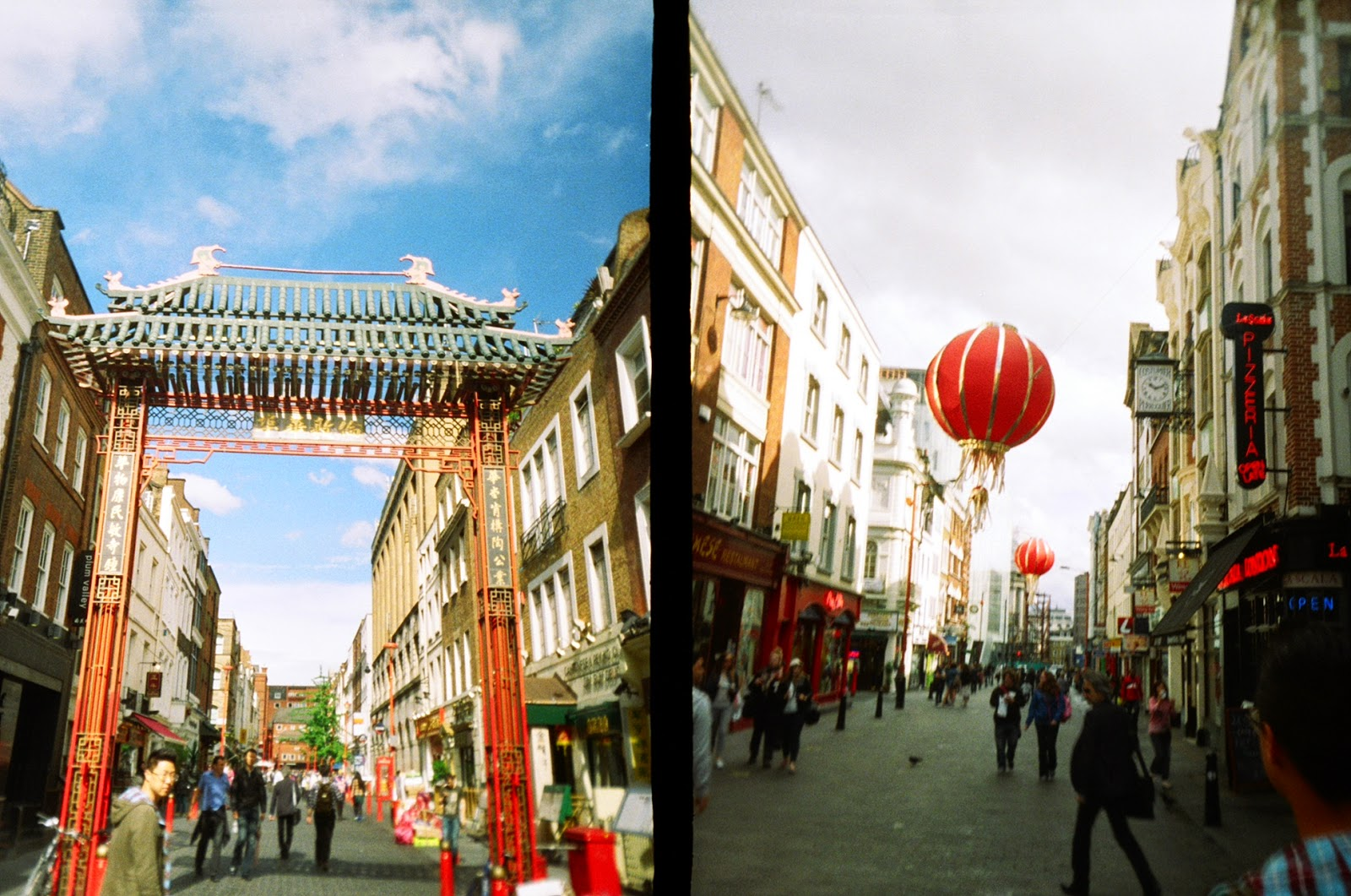 Superheadz Golden Half Camera London Chinatown