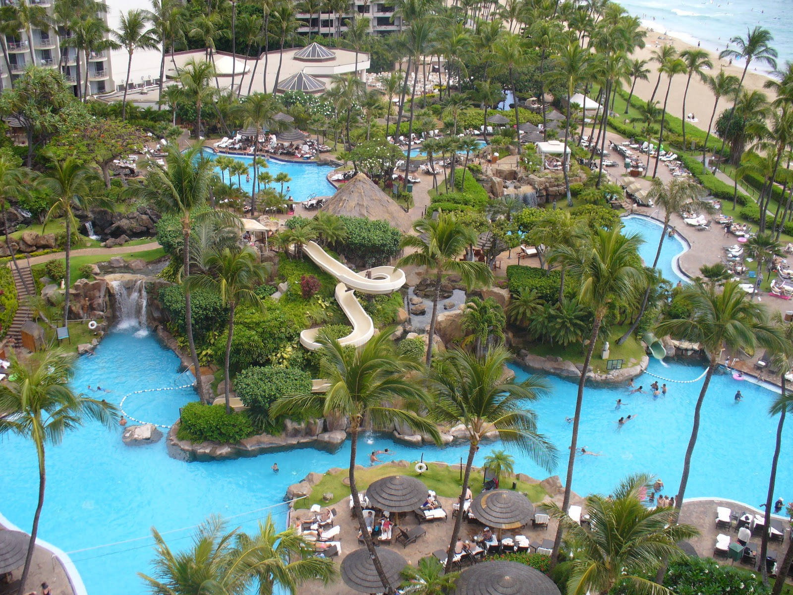 Sliding at the westin maui resort spa facts pod for Best luxury hotels in maui