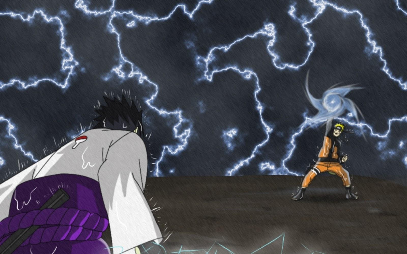 download wallpapersku naruto vs sasuke wallpapers 38384