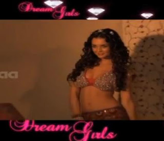 Amy Louise Jackson in Dream Girls sexy Photo Shoot