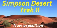 Simpson Desert trek expedition
