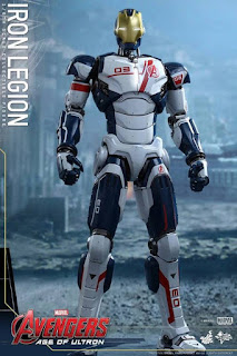 Hot Toys, die cast, Avengers age of ultron, Mark XLV, Iron Legion Drone