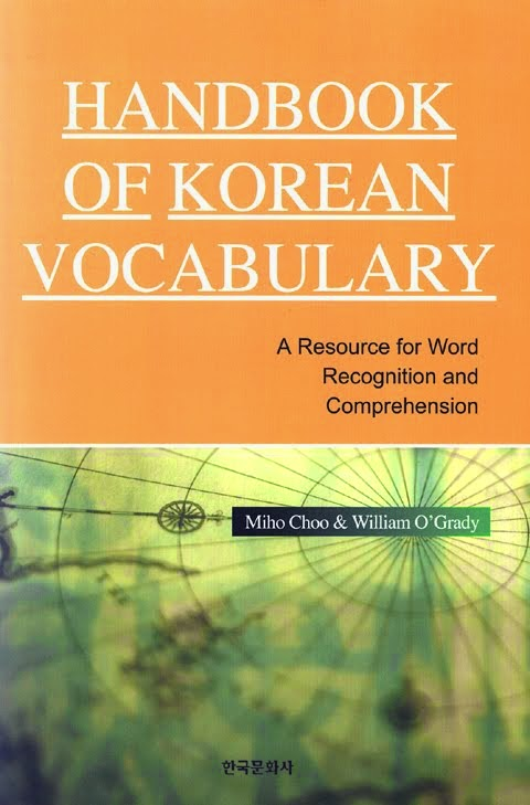 Handbook of Korean Vocabulary