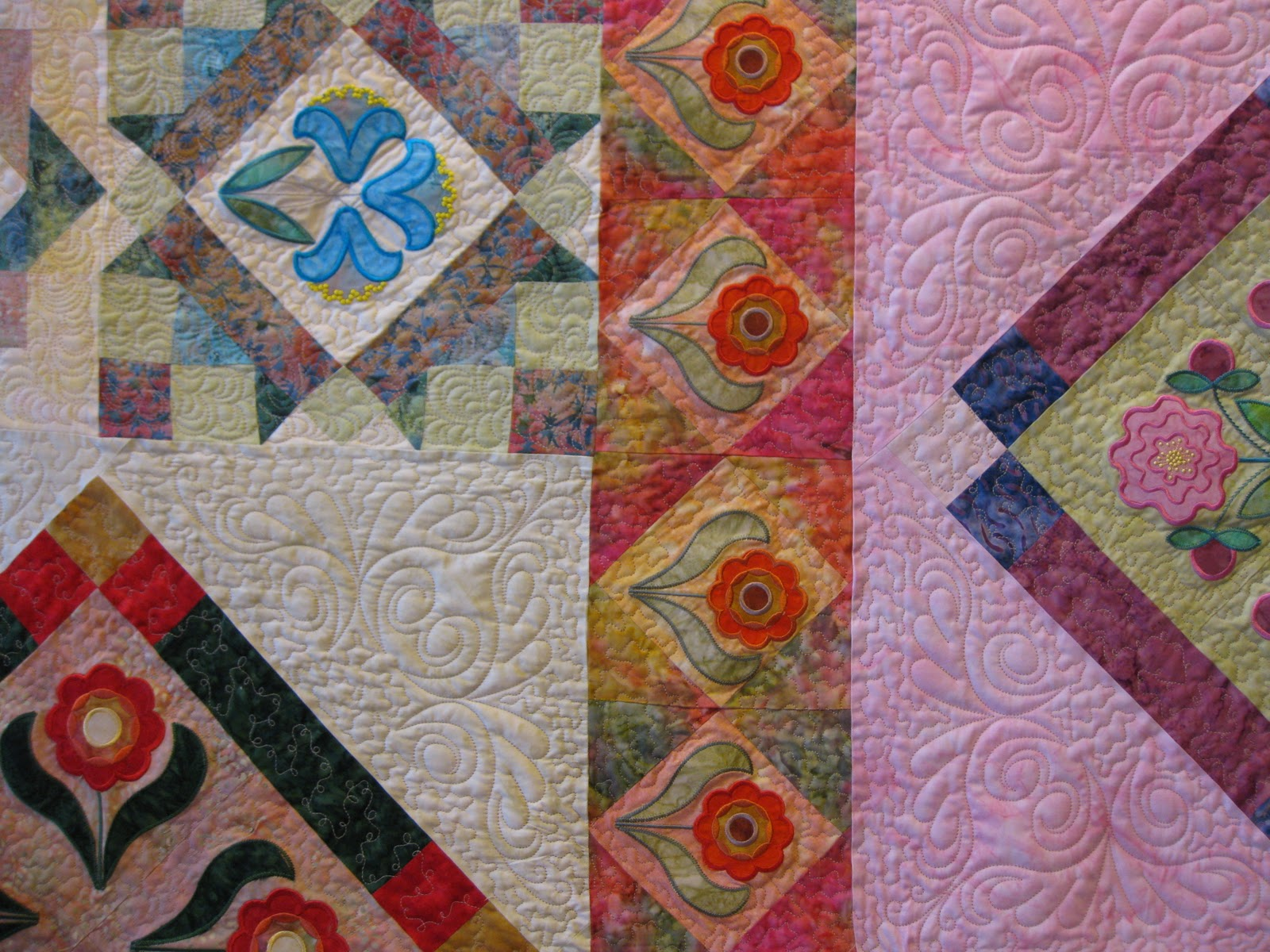 how to machine quilt with a regular sewing machine