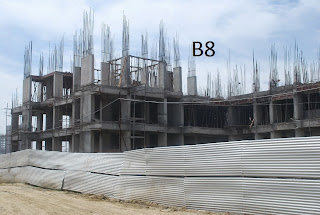 Amrapali Terrace Homes :: Construction Update b8