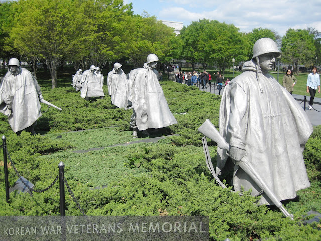 Korean War Veterans Memorial - Washington D.C.