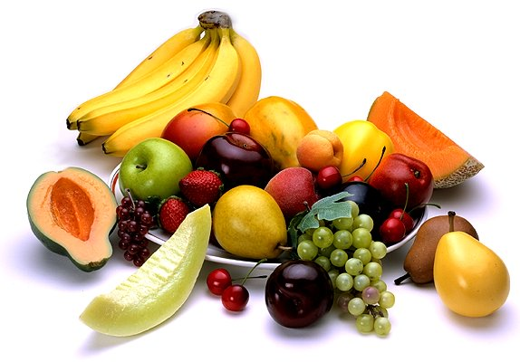 collection of fruits and