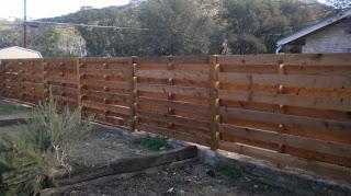 Деревянный забор. Фото 80