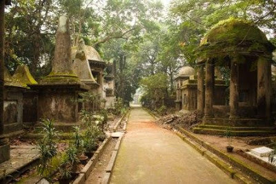 Park Street Cemetry. Inspiration for the setting of Monkey Wars by Richard Kurti. Photo courtesy of Melissa Enderle.