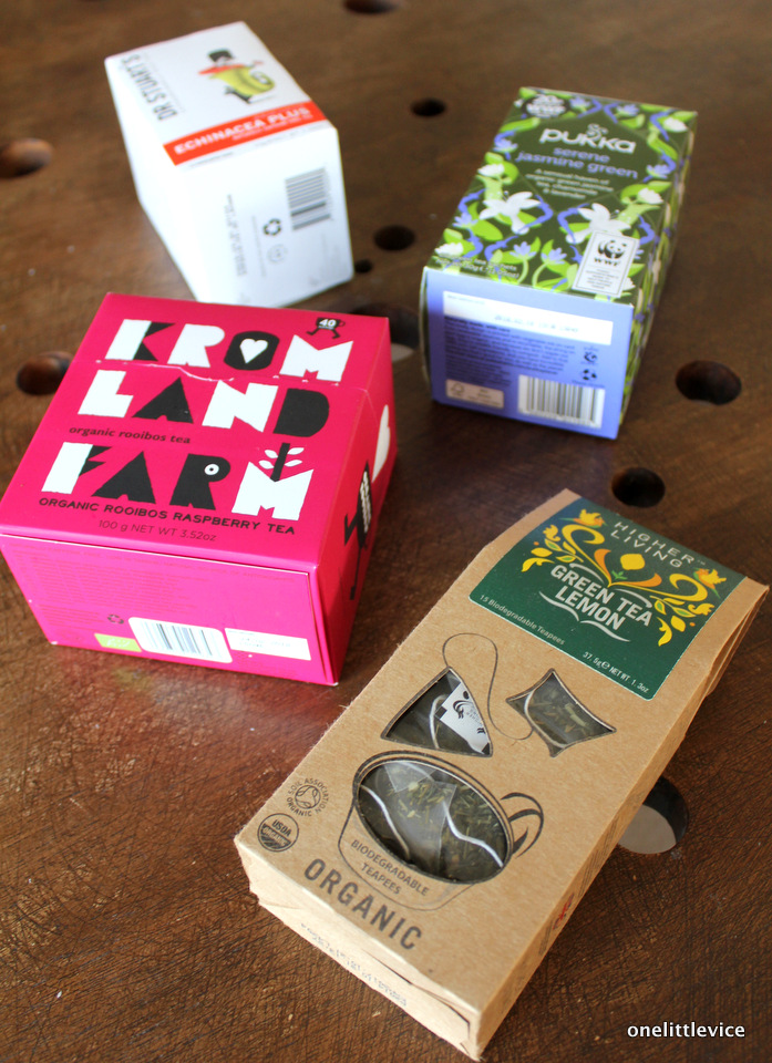 one little vice uk lifestyle blog: natural organic tea reviews